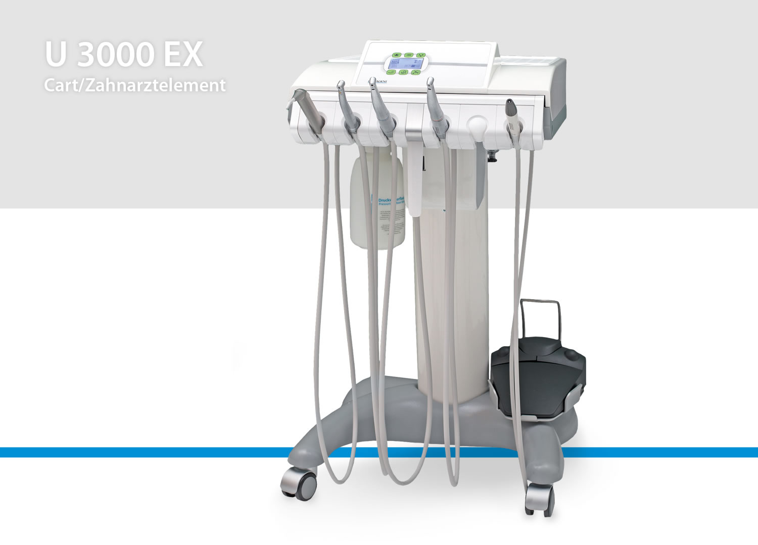 Mobile dental unit U 3000 EX